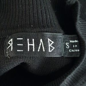 Rehab Sweaters - Rehab black sweater, size small, cold shoulder.